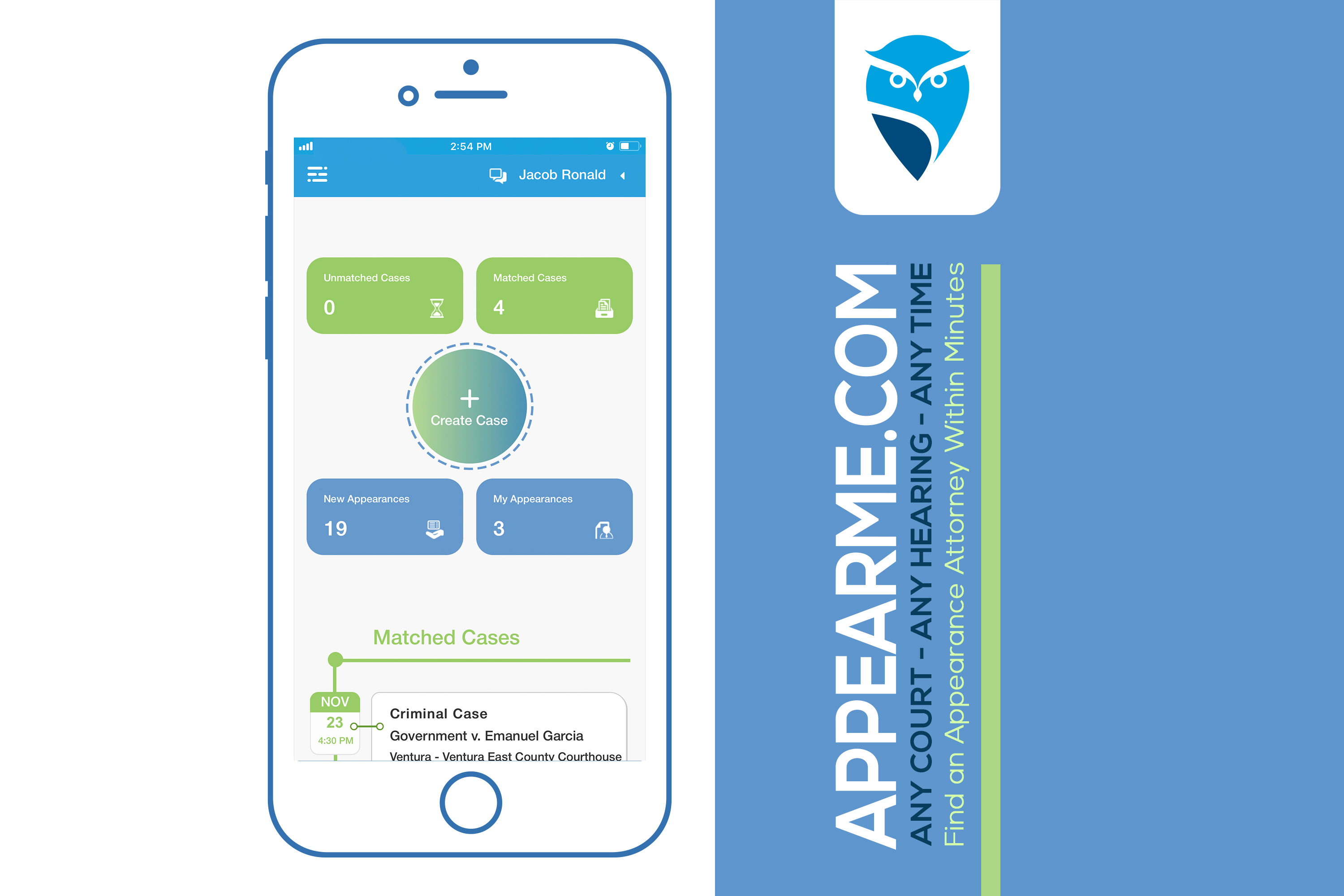 AppearMe – Releases the Latest Web and Mobile Apps for Lawyers.