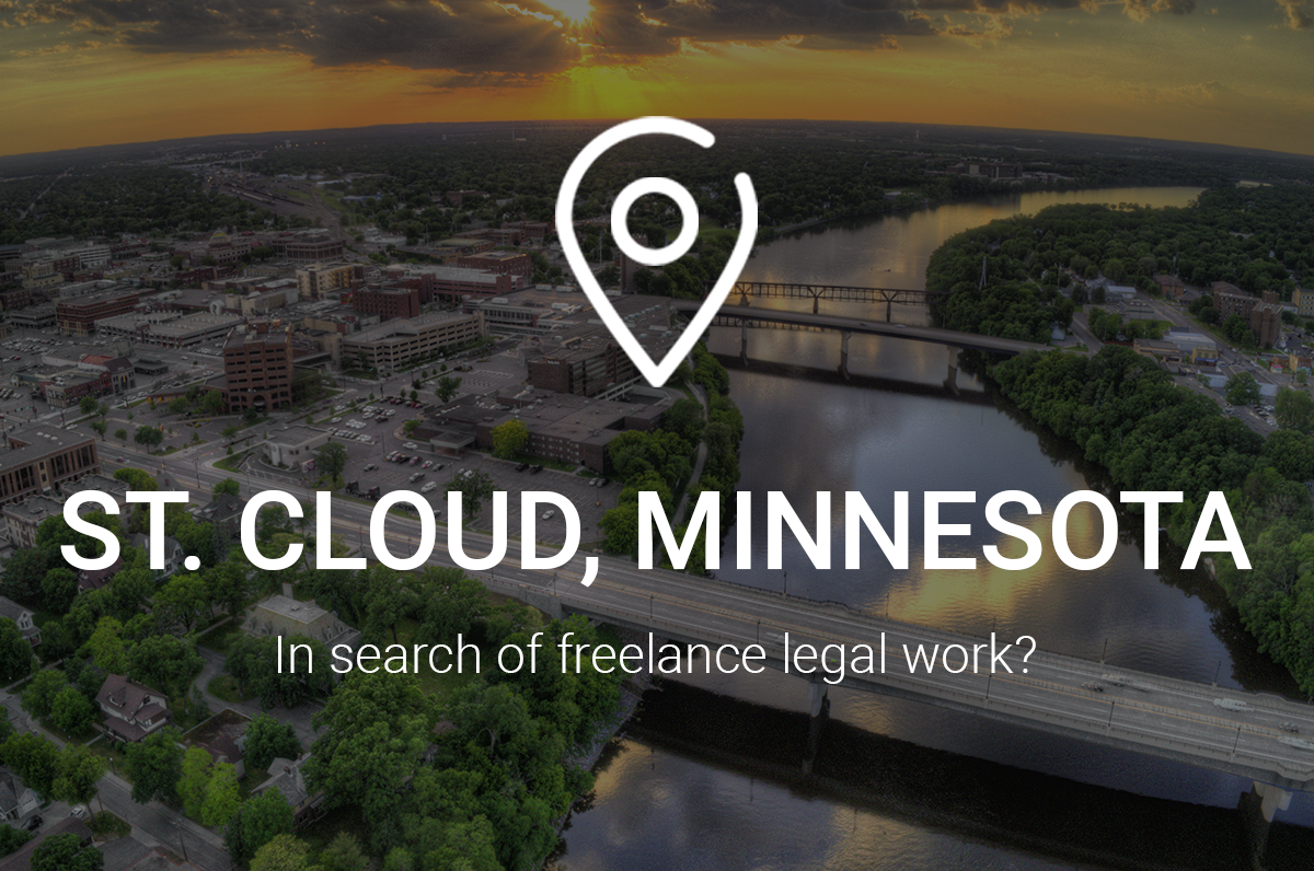 In Search of Freelance Legal Work in St. Cloud, Minnesota? Get Connected to This Attorney Network!