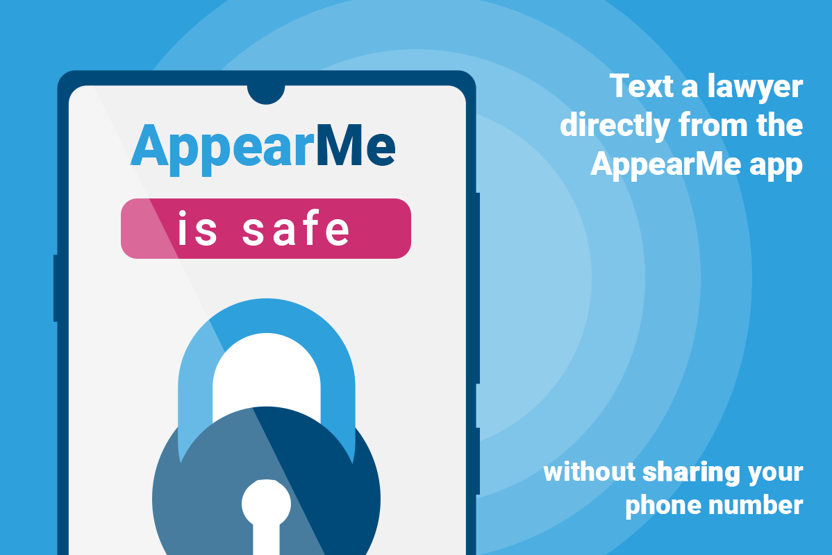 Text a Lawyer Directly From the AppearMe App