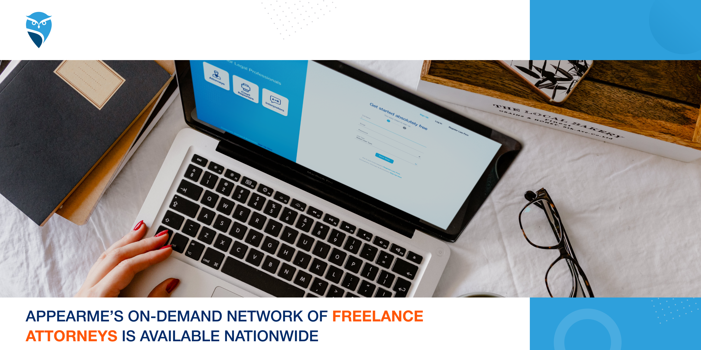 AppearMe's On-Demand Network of Freelance Attorneys is Available Nationwide to Help You Get More Work Done