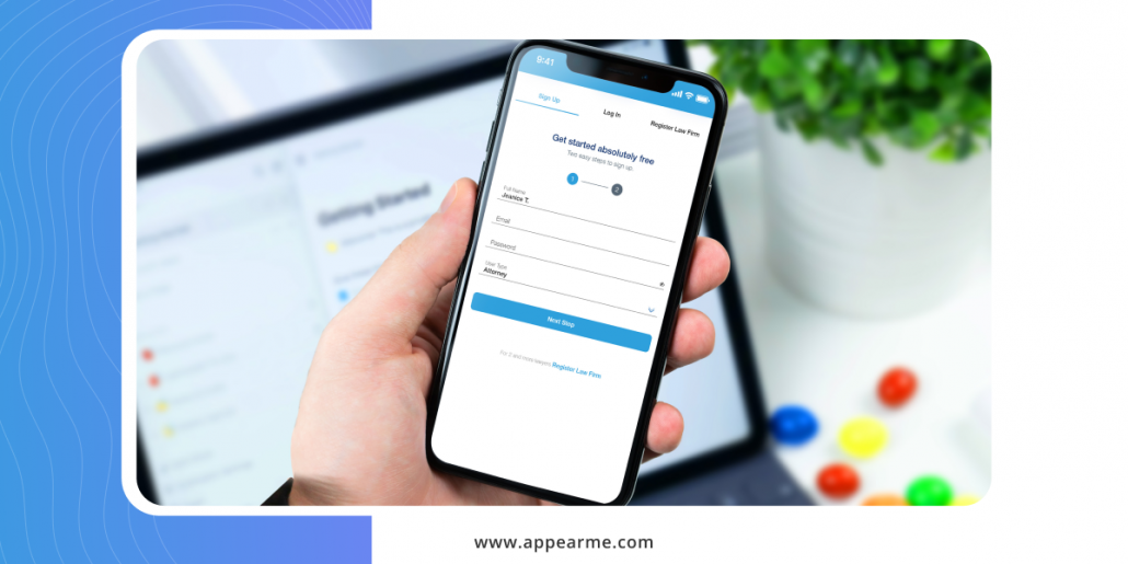 AppearMe: Outsource Your Legal Work in Less than a Minute