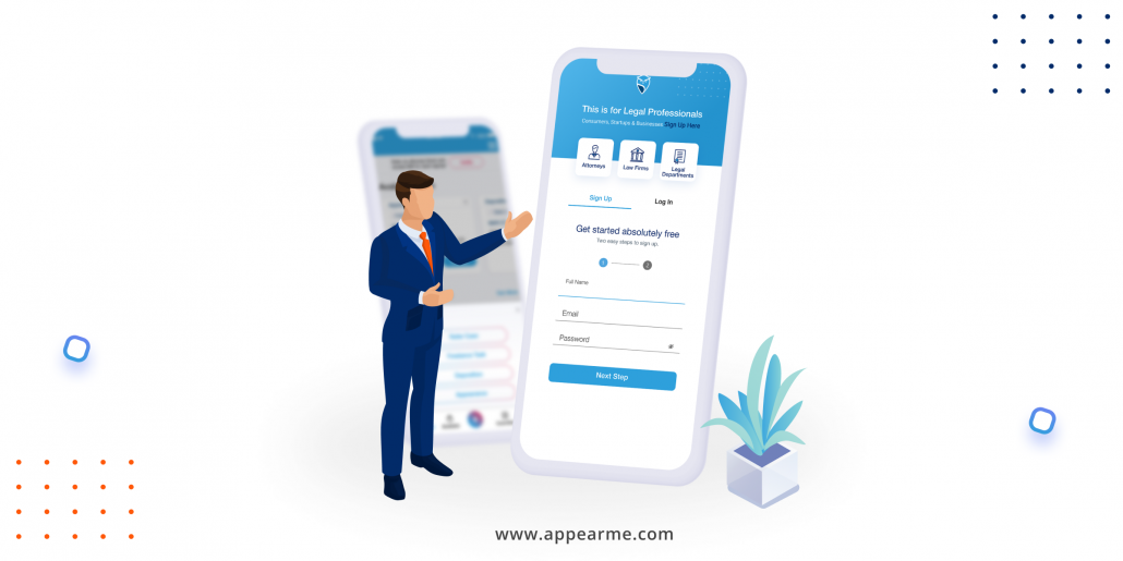 AppearMe: An All-In-One Legal Application for Attorneys and Law Firms