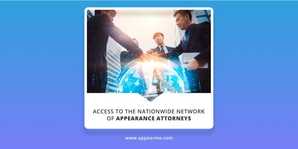 Nationwide Appearance Attorneys | AppearMe